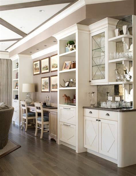 imaginative wet bar shelving living room traditional with