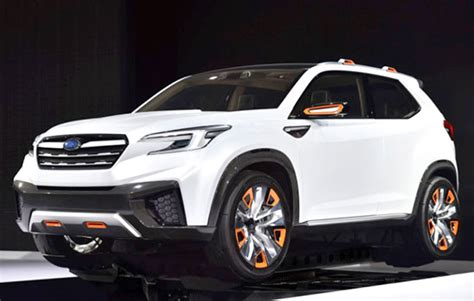 Dimensions Of 2019 Subaru Forester by 2019 Subaru Forester Redesign Specs And Release Date