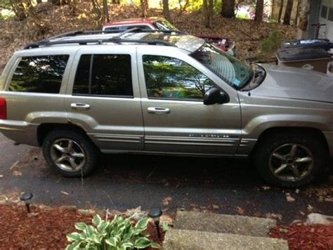 silver jeep grand 2001 purchase used 2001 jeep grand limited suv silver