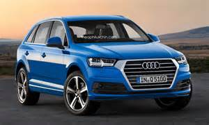 Audi Q5 Generations Next Generation Audi Q5 With New Q7 Styling Cues