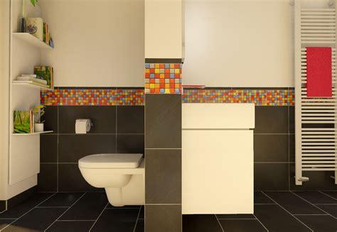 Badezimmer Mosaik Fliesen by Badezimmer Fliesen Mosaik Bunt Gispatcher