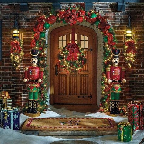 fun outdoor christmas house decorations decorating outdoors style stylish