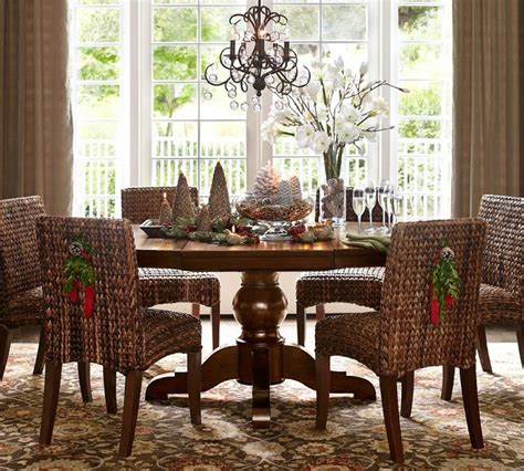 christmas dining room decorations christmas centerpieces