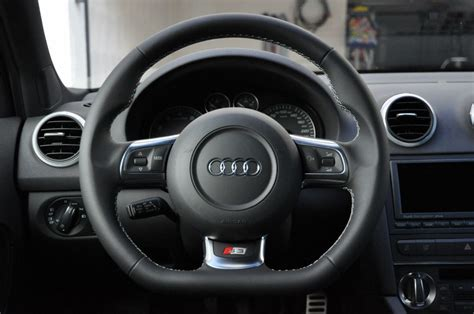 Audi A3 Lenkrad by Sportlederlenkrad Eingebaut 187 Audi S3 Sportback