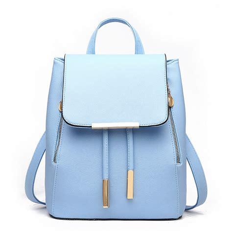 Griliy Bag daily backpacks daypack school bag pu leather