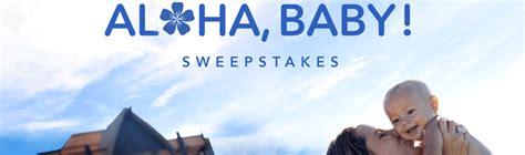 Disney Hawaiian Sweepstakes - disney com alohababy disney aloha baby sweepstakes