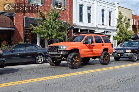 2004 jeep grand custom wheel offset 2004 jeep grand aggressive 1 outside