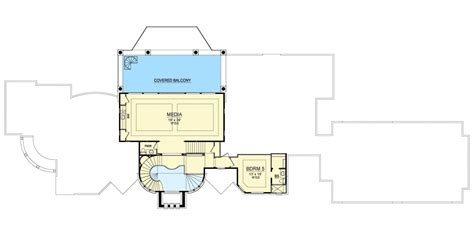 media room floor plans mediterranean house plan with the ultimate media room