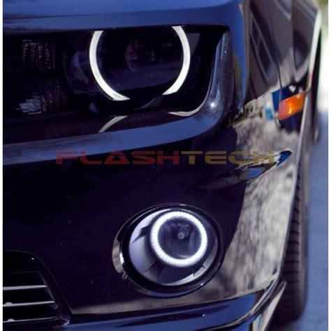 chevy camaro white led halo fog light kit