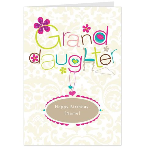 Granddaughter Birthday Cards Hallmark Cards Greetings Cards And Gifts