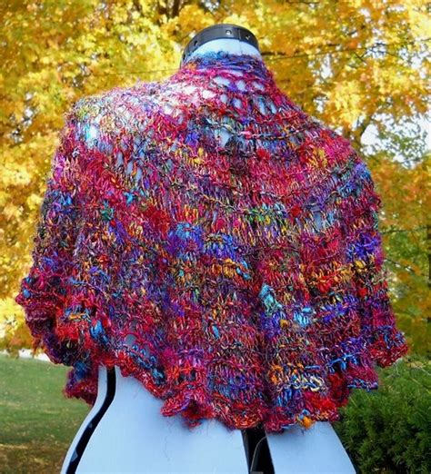 knitting pattern silk yarn 1000 images about knitting with sari yarn on pinterest