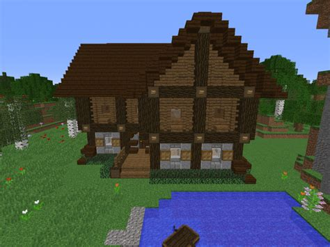 How Big Is A Cottage Big Cottage Minecraft Project