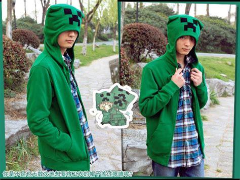 Sweater Shingeki No Kyojin Hijau minecraft creeper hoodie jaket
