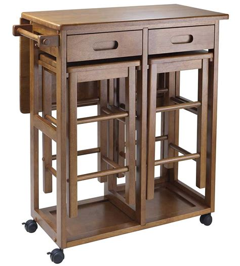 wood table with leaf wood drop leaf table with stools in dinette sets