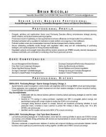 Sample Resume For Purchase Manager resume format for purchase manager samples of resumes