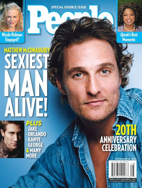 Matthew Mcconaughey Videos At Abc News Video Archive At Abcnews Com Sexiest Alive Magazine Cover Template