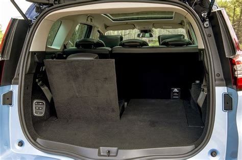 renault grand scenic luggage capacity renault grand scenic dci 160 2016 road test road tests