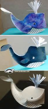 Jonah And The Whale Crafts For Older Kids - paper plate whale fun crafts kids