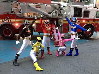 Robotan Power Rangers Setpowers Rangers Isi 5 henshin grid power rangers megaforce in new york