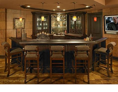 Basement Corner Bar Basement Bar Luxury Basement Bars