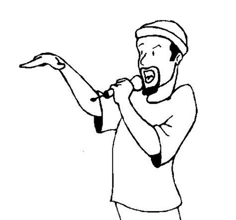 imagenes para dibujar rap disegno di rapper da colorare acolore com