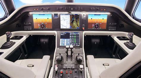 Luxury Power Outlets legacy 500 midsize executive jet cockpit