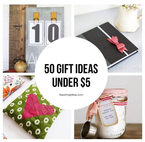 A Handmade Gift - 50 gift ideas to make for 5 i nap time