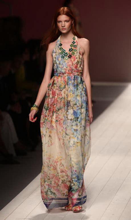 vestito a fiori abito lungo a fiori zara