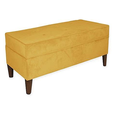 skyline furniture storage bench skyline furniture adams storage bench bed bath beyond