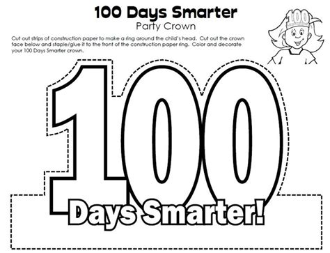 100th day of school crown template template for 100 day crowns search results calendar 2015