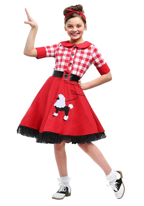 50 girl halloween costumes 50s darling costume for girls