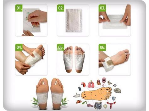 Detox Foot Pads Smell by Detox Foot Pads Health Fitness Colombo