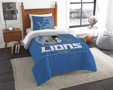 detroit lions bedding nfl detroit lions twin comforter set buy at team bedding com
