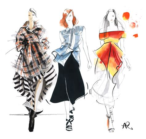 picture illustration fashion illustration ngv