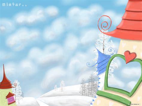 wallpaper cartoon landscape scenery wallpaper scenery cartoon wallpaper