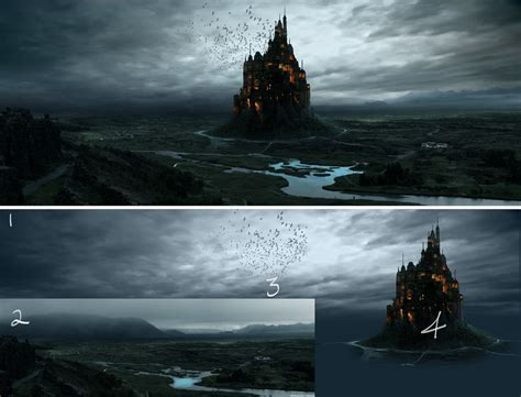 matte painting in martin s matte painting photoshop