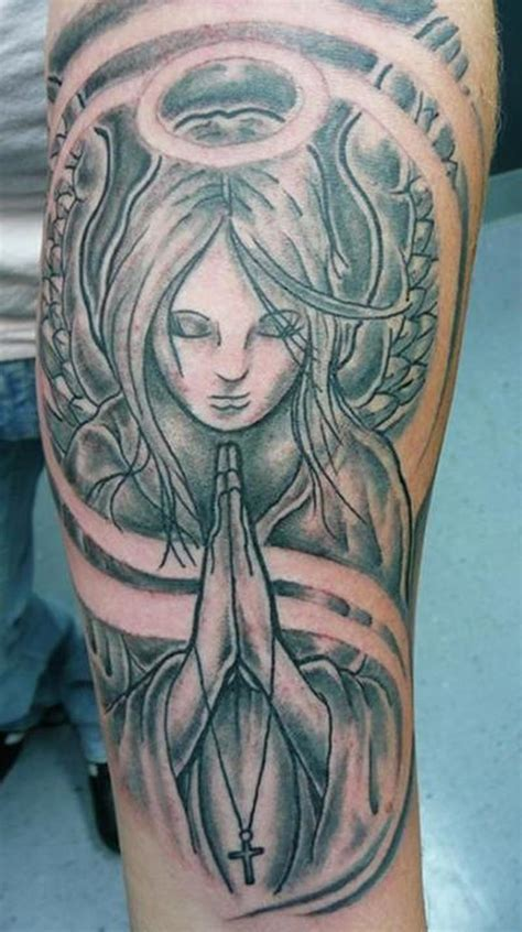 angel praying tattoo praying drawings www pixshark images