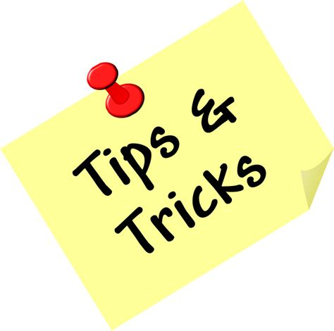 tips and tricks clipart tips and tricks