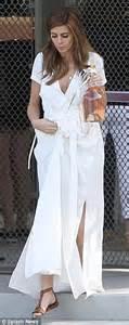 jamie lynn sigler wedding dress jamie lynn sigler wears strapless bridal dress after