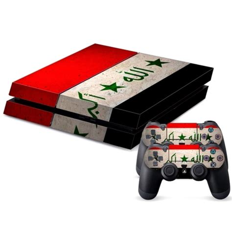 Ps4 Games Sticker by Iraqi Flag Pattern Decal Stickers For Ps4 Game Console