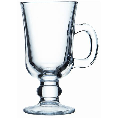 irish barware living giving glass irish coffee mug