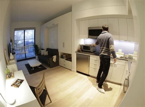 Micro Appartments by High Tech Millennial Lifestyle Inspires Micro Apartment