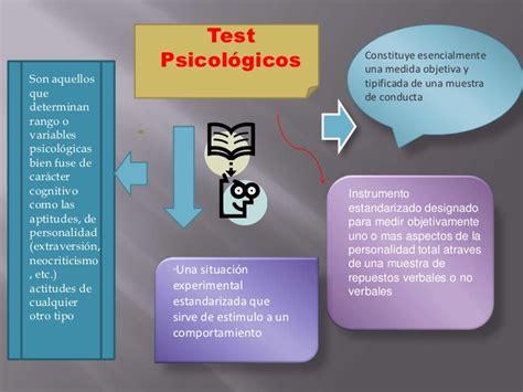 test psicologico test psicol 243 gicos