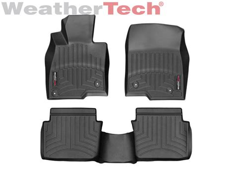 weathertech floor mats floorliner for mazda mazda3 2014 2017 black ebay