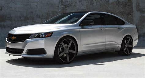 2014 chevy impala wheels 2014 chevy impala sits well on big vossen wheels