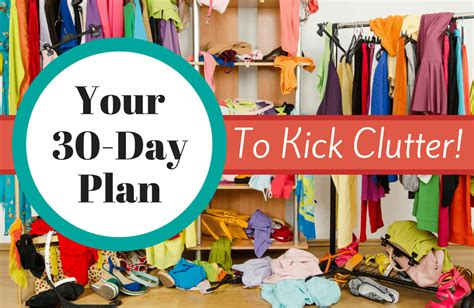 declutter your home in 30 days sparkpeople