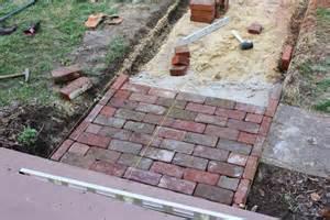 high street market diy antique brick pathway