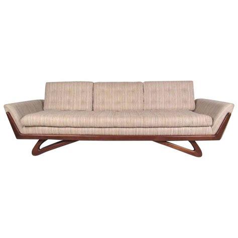 adrian pearsall gondola sofa adrian pearsall quot gondola quot sofa for craft associates for
