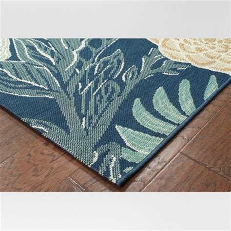 Outdoor Rug Woodcut Floral Threshold Target Threshold Outdoor Rug
