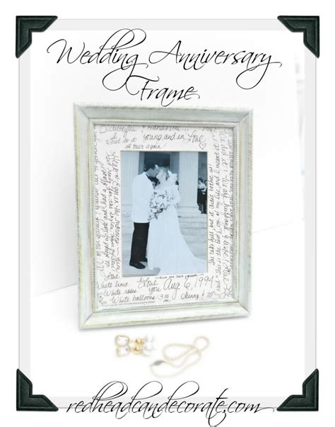 Wedding Anniversary Frames by Wedding Anniversary Frame Can Decorate